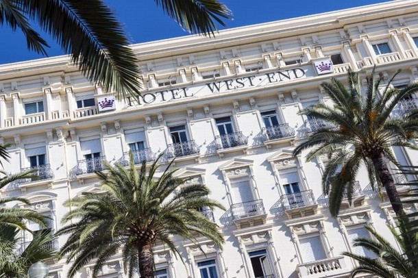 Renting rooms for organizing a conference or seminar in Nice - Hotel West End (06)