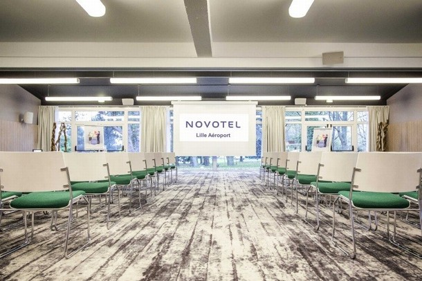 Rental of rooms for the organization of a congress or seminar in Lille - Novotel Lille Aeroport (59)
