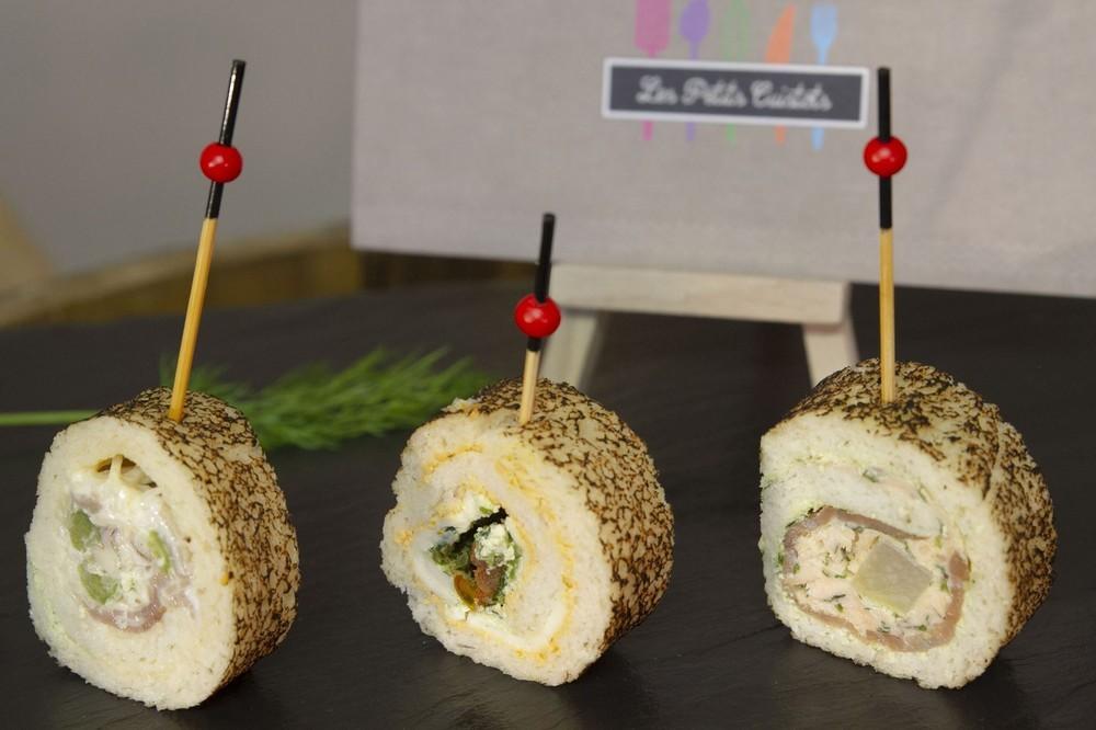 Los cocineros pequeños - pan maki.