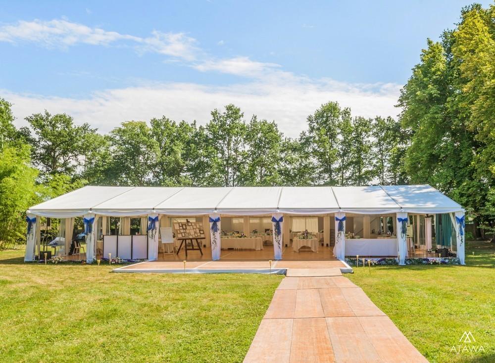 Atawa - Zelt für Seminar
