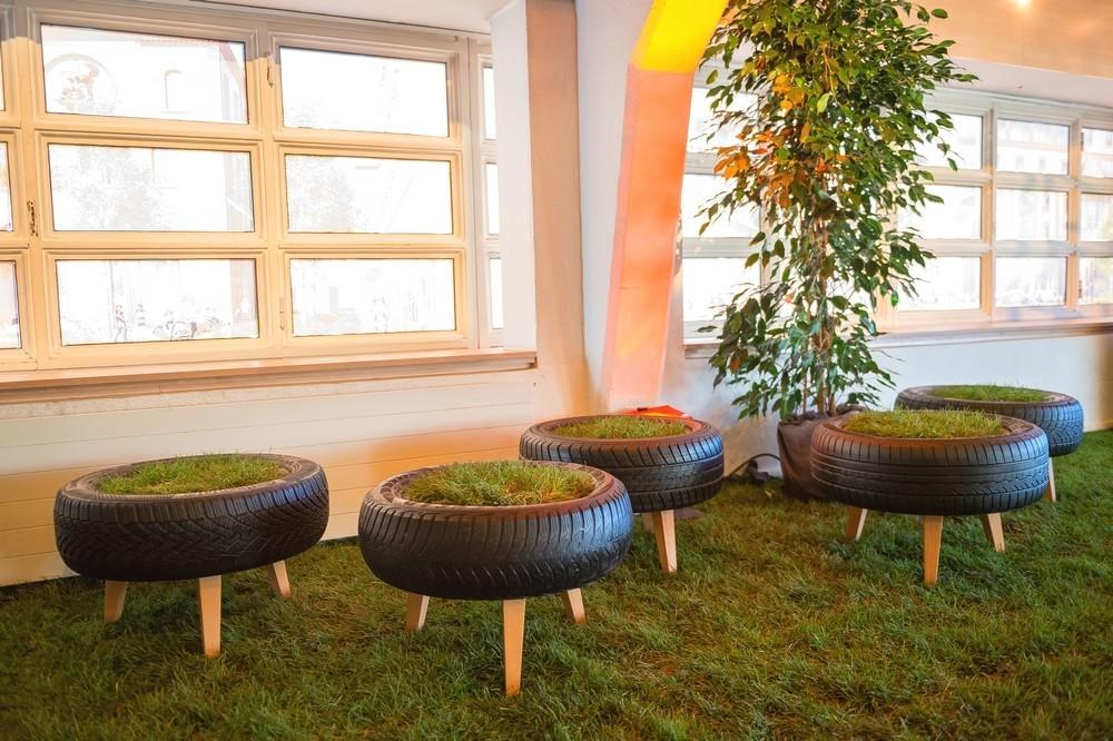 Alquiler de plantas verdes - decoración floral