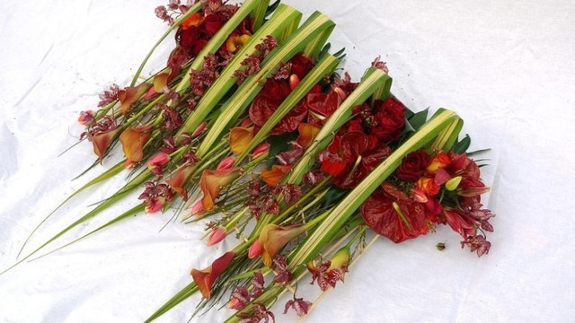 Die kleinen Floristen - Blumenstrauß