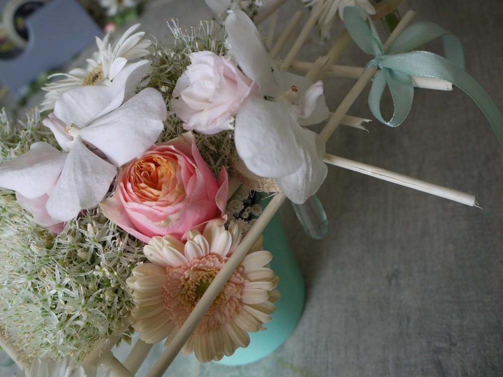 I piccoli fioristi - composizione