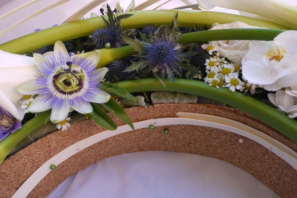Die kleinen Floristen - Blumendekoration