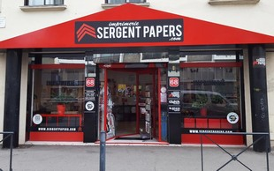 Sergeant Papers Printing - Exterior