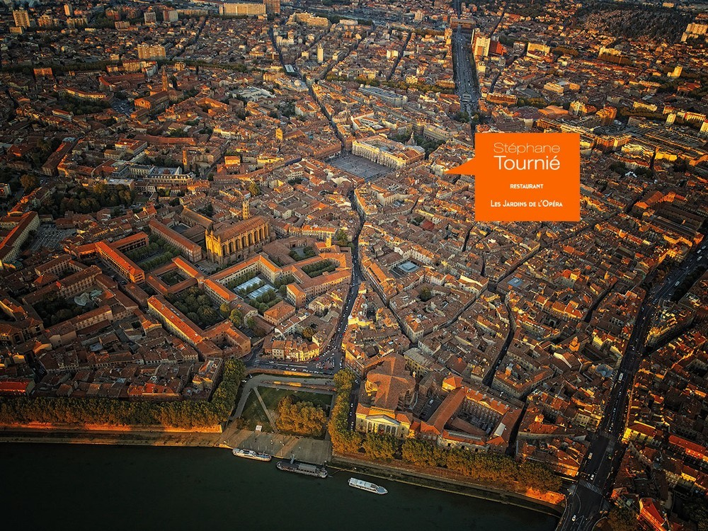 Stéphane tournié - the gardens of the opera - ideally located