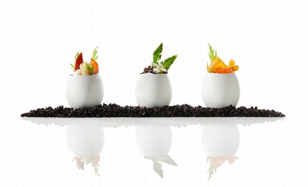 Restaurant Kerl Lassausaie - unsere 3 kleinen Eier