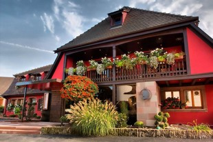 Auberge au Bœuf - Front of the restaurant