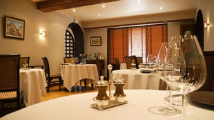 L'Ecusson - Restaurant room