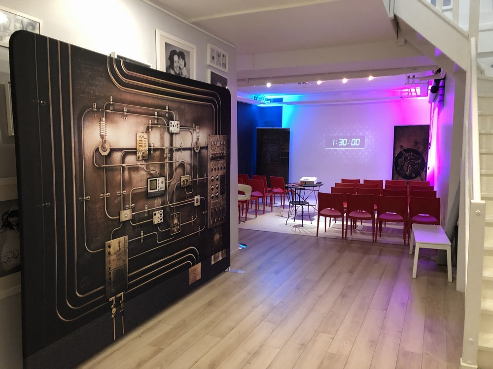 Level up event - escape game paris