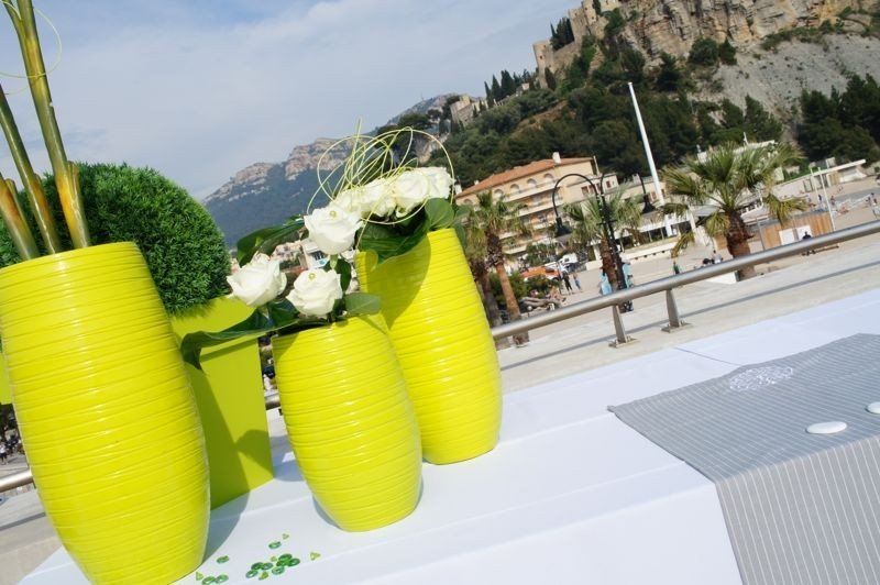 One day event - outdoor floral decorator