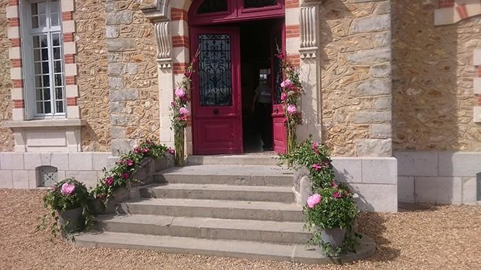 Fiori e luogo di decorazione floreale co-floreale