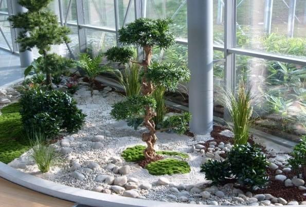 Planta de inicio - paisajista corporativo