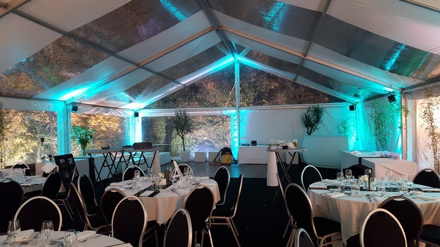 Heavyweight marquees - reception hall