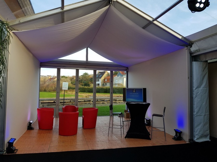 Heavyweight marquees - marquees tailored to your needs