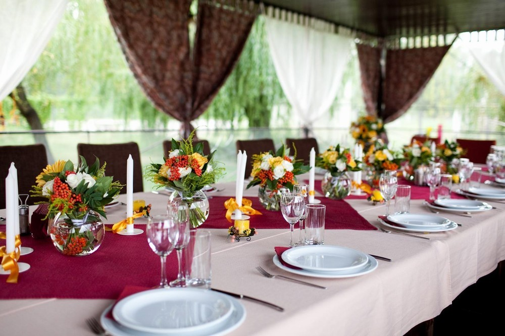 South marquee - receptions
