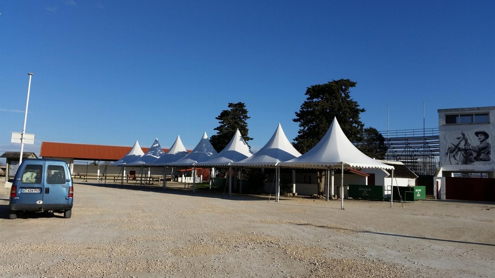 Sud marquee - rental of marquees and tents