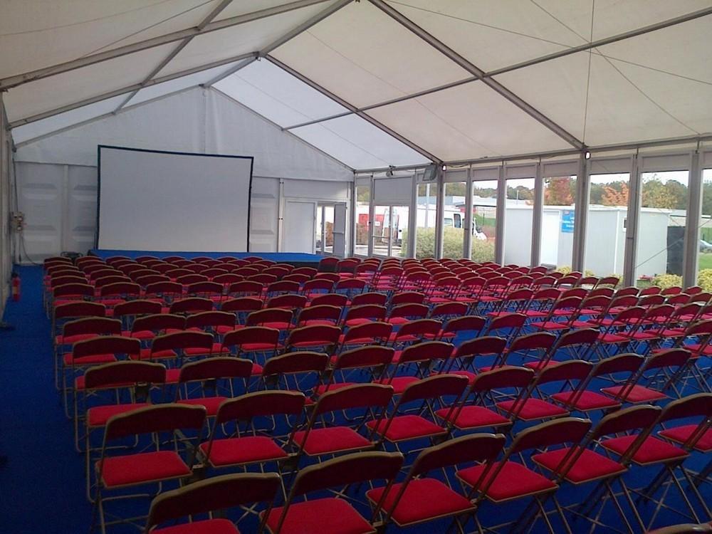 Splatch 51 - tent hire for seminars