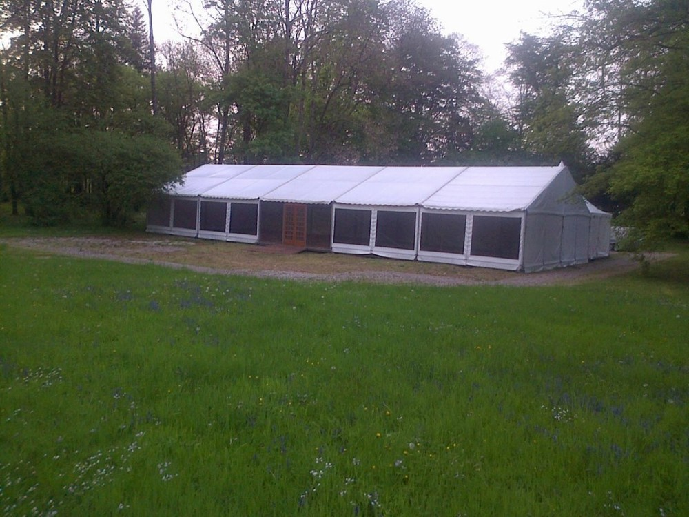 Splatch 51 - installation of tents and marquees in the marl