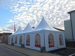 The Chapiteaux de Bourgogne - Tent and event structures