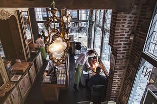Le Barbier qui Fume Vieux Lille - Sala da pranzo