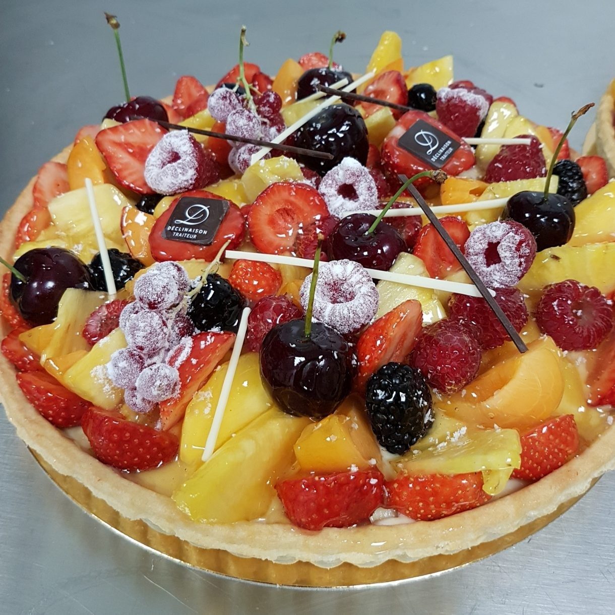 Variation Caterer - Obstkuchen