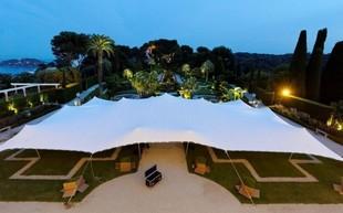 Ten By Fifteen - Tent arrangement for seminars