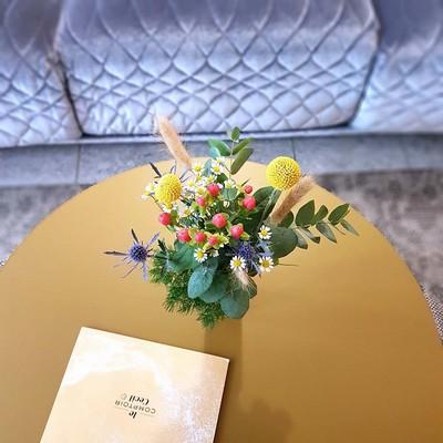 Dapper - Decoración floral