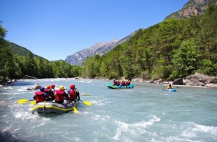 Oueds and Rios Rafting - Rafting en equipo