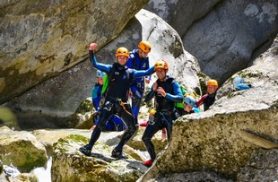 Mountain and River - Canyoning