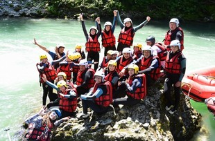Alpo Vive Rafting - Team building