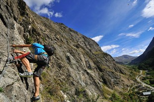 No Limit Rafting - Klettern