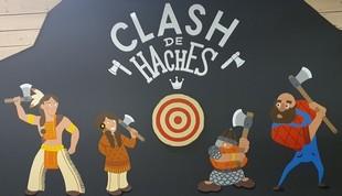 Clash of Axes - Throwing Axes