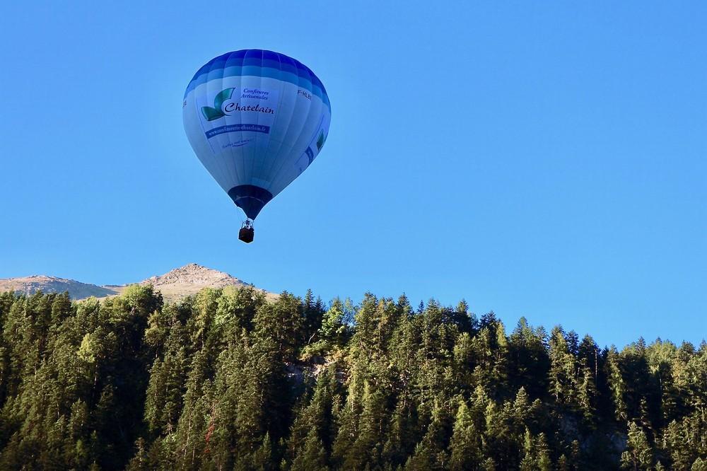 Hautes Alpes Heißluftballon - Aktivität für Seminare und Incentives