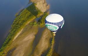 Pinson Heißluftballon - Heißluftballonflug