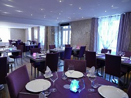 Restaurante La Croix Blanche - Sala de restaurante