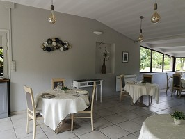 La Table de Léa - Sala de restaurante