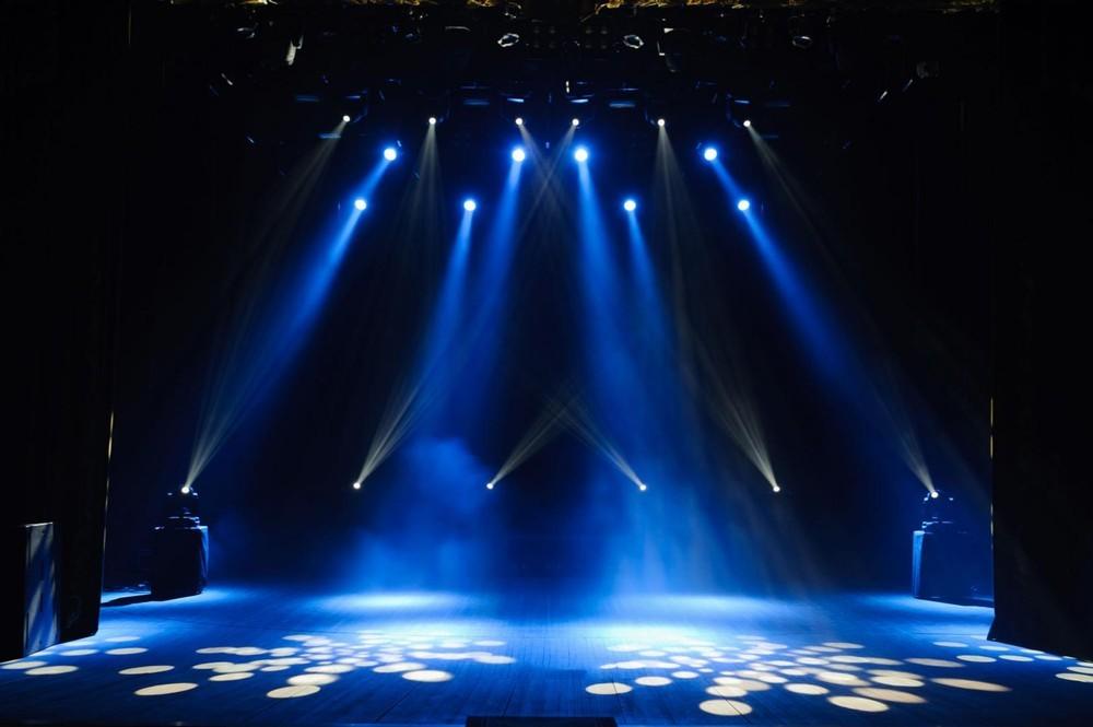 Sound and light art - lighting