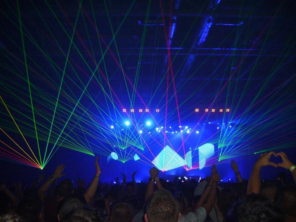 Arte de sonido y luz - sonido en la var