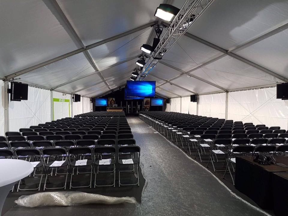 Jst events - tent for seminar