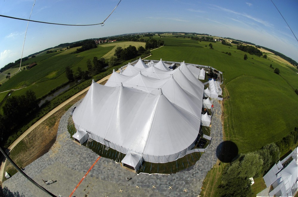Covered area - tent and marquee rental