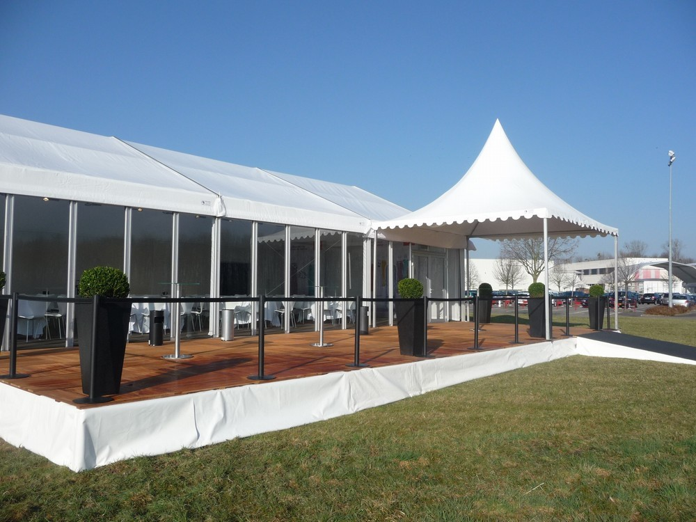Covered area - marquee for your events