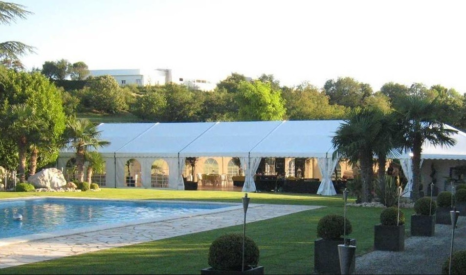 Valdaine capitals - rental of tents and marquees