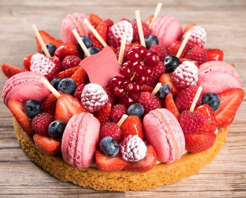 Patisseriedanieltreateurrennesstrawberry