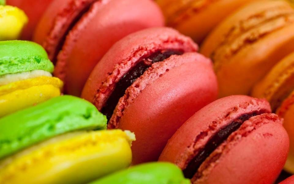 Maison courbet - macaroons